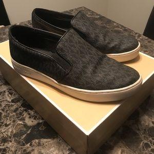 MK Women's slip on sneakers Black 8.5